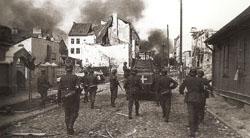 Entrada de los alemanes en Varsovia