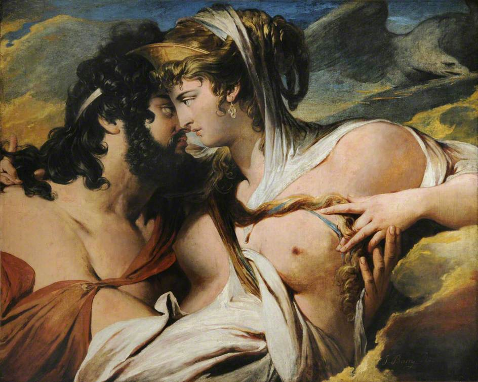Júpiter y Juno en el monte Ida (1790-1799) - James Barry