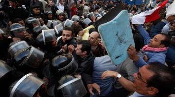 Protesta en Egipto