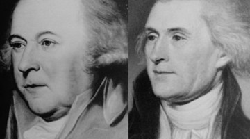 T. Jefferson y J. Adams