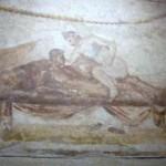 Costumbres de Roma. Una canita al aire… el lupanar