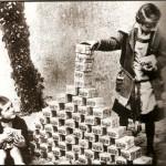 Nos calentamos quemando dinero, decía un alemán en los años 20
