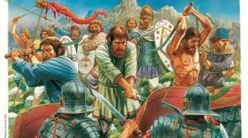 Dacios contra romanos