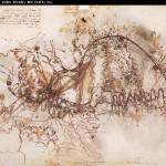 Boceto del desvío del Arno