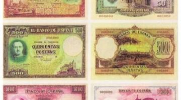 Prueba billetes de Franco