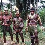 Los guerreros del semen de la tribu Sambia