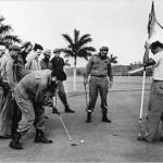 El periodista que pagó el mal perder de Fidel Castro… al golf