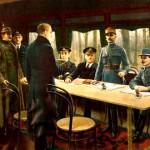 Firma del armisticio de 1918