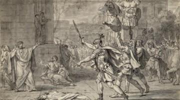 Muerte de la hermana de los Horacios