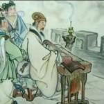 Zhuge Liang con el guqin