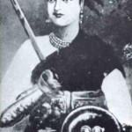 La heroína hindú que se enfrentó a los británicos con su hijo atado a la espalda.