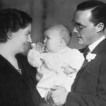 Los príncipes y Beatriz, su primera hija