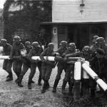 """Soldados alemanes """"rompen"""" la frontera polaca"""