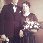 Marcel y su esposa René