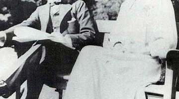 Winston y Clementine poco antes de casarse