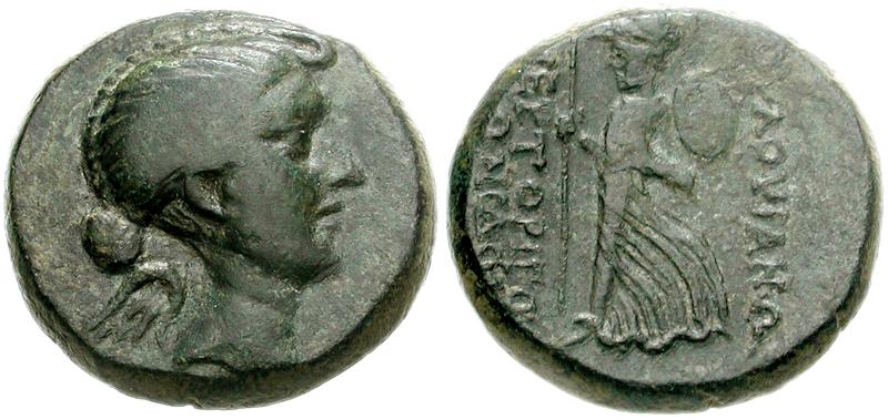 La 1ª mujer no mitológica en aparecer en una moneda