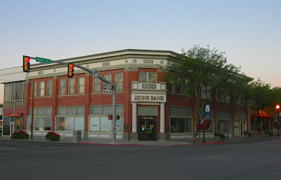 Zions Parcel Post Bank Vernal Utah