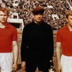 Streltsov -el primero de la foto- con la selección olímpica.