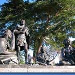Monumento a los Cuatro Últimos Charrúas en Montevideo