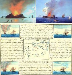 Ilustración del geólogo francés Constant Prévost de 1831