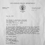 Respuesta del Jefe de Policía de Los Ángeles a la invitación a participar en el Día del Orgullo Gay