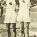 Shuhei Nishida y Sueo Oe