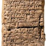 Tabla sumeria