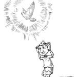 ¿Por qué trae suerte que te cague una paloma encima?
