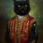 Los gatos, guardianes de la cultura en San Petersburgo