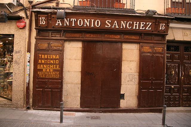 Taberna Antonio Sanchez