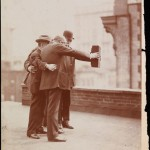 Un selfie de hace un siglo