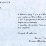 El telegrama que concedió al Madrid el título de Real