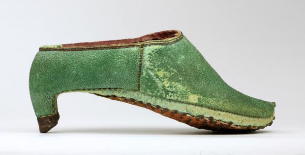 Zapato persa del XVII