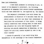 La creación del Estado de Israel, el químico y las castañas