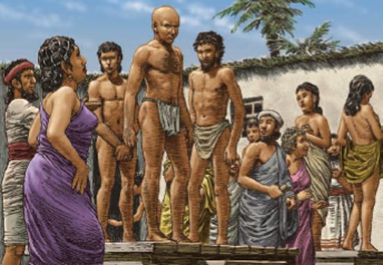 Venta esclavos Sumeria