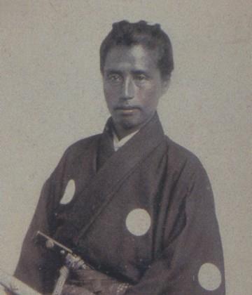 Katsu Kaishu durante su visita a EEUU