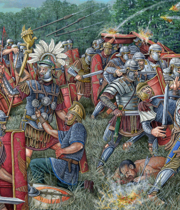 batalla Roma