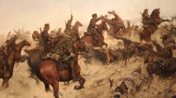 Carga Regimiento Alcántara