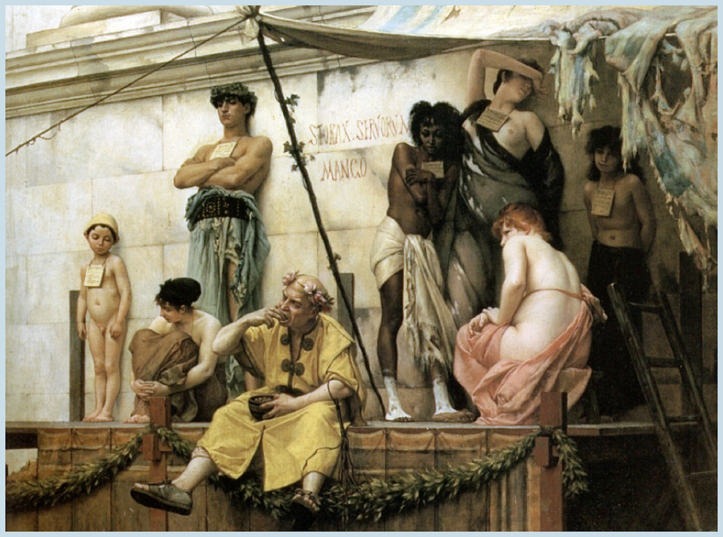 Mercado de esclavos (1888) - Gustave Boulanger