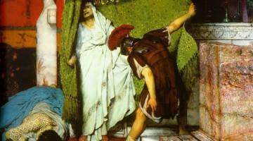 """""""Un emperador romano AD41"""" (1871) - Lawrence Alma-Tadema"""