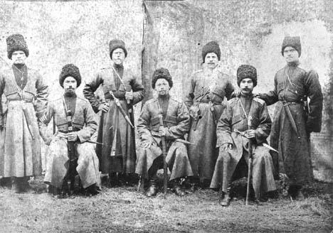 cosacos zaristas