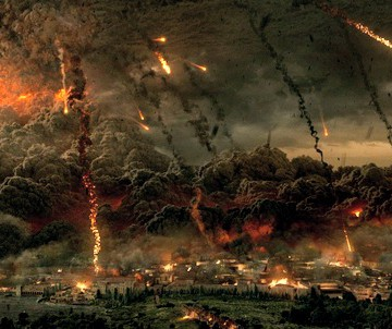 Mt. Vesuvius explodes in TriStar Pictures' POMPEII.