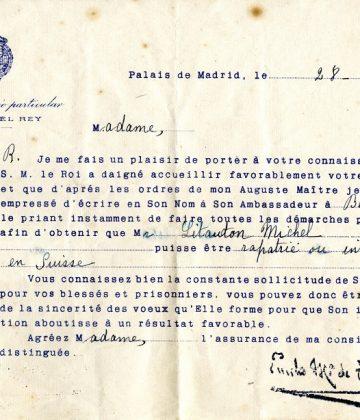 Carta Oficina cautivo