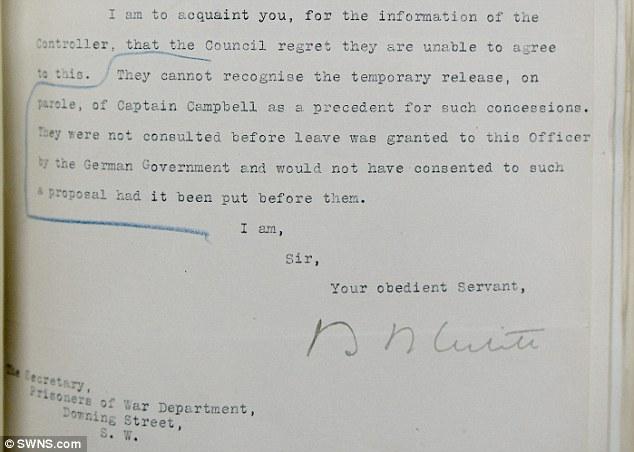 Documento Ejército Británico