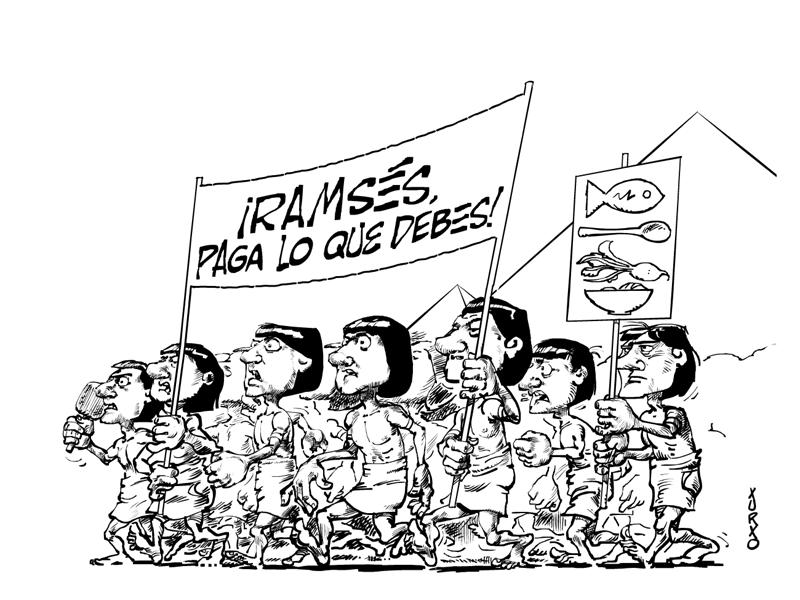 Diario Teruel Huelga egipcios copia