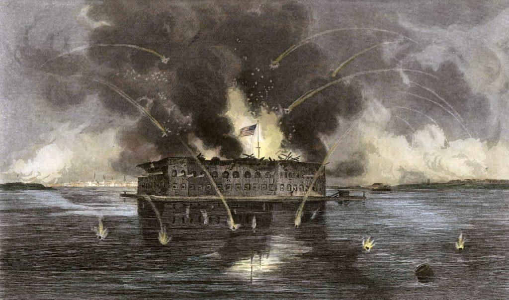 Bombardeo de Fort Sumter