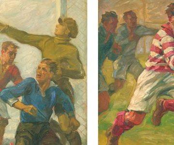 Pinturas presentadas en los Juegos de Amsterdam 1928