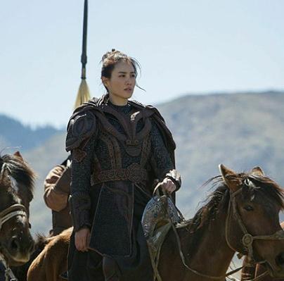 """Khutulun (fotograma de la serie TV """"Marco Polo"""")"""
