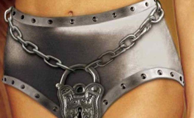Resultado de imagen de cinturon de castidad