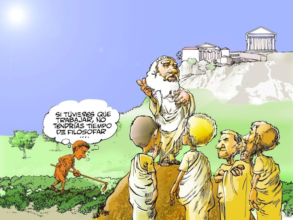 cuál es el origen de la filosofía historias de la historia